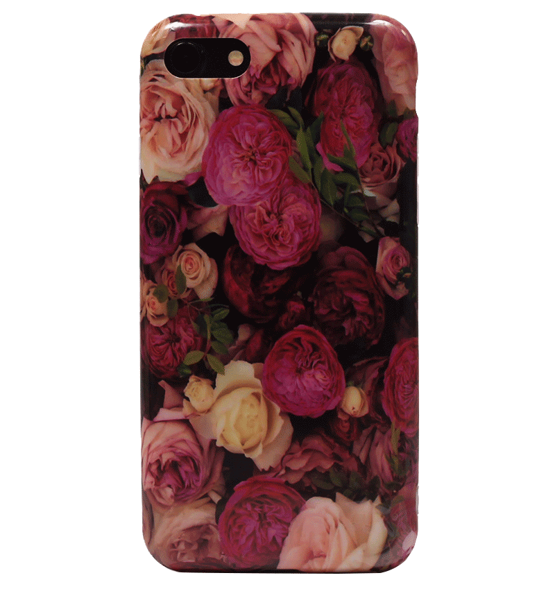Ốp lưng iPhone 7 Silicon Color Roses