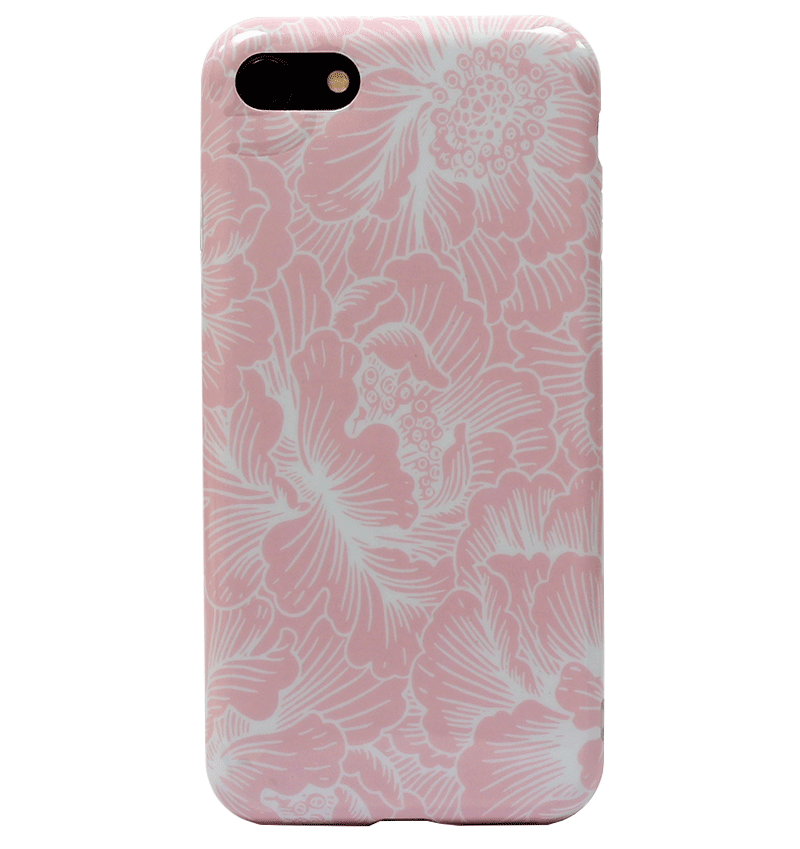 Ốp lưng iPhone 7 Silicon Fresh Floral