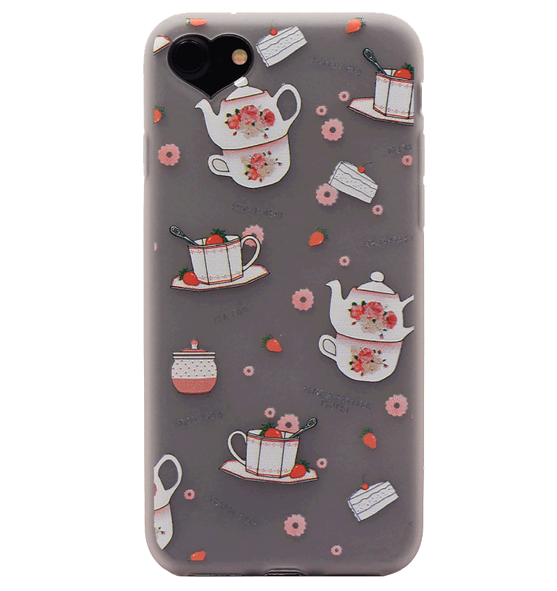 Ốp lưng iPhone 7 Silicon teacup