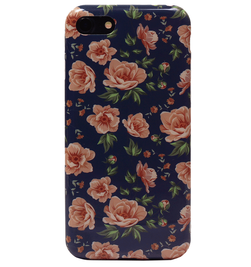 Ốp lưng iPhone 7 Silicon White Roses