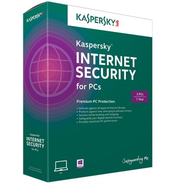 Kasperky Internet Security bộ (3 PC/1 năm)