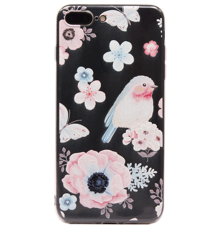Ốp lưng iPhone 7 Plus Silicon baby bird
