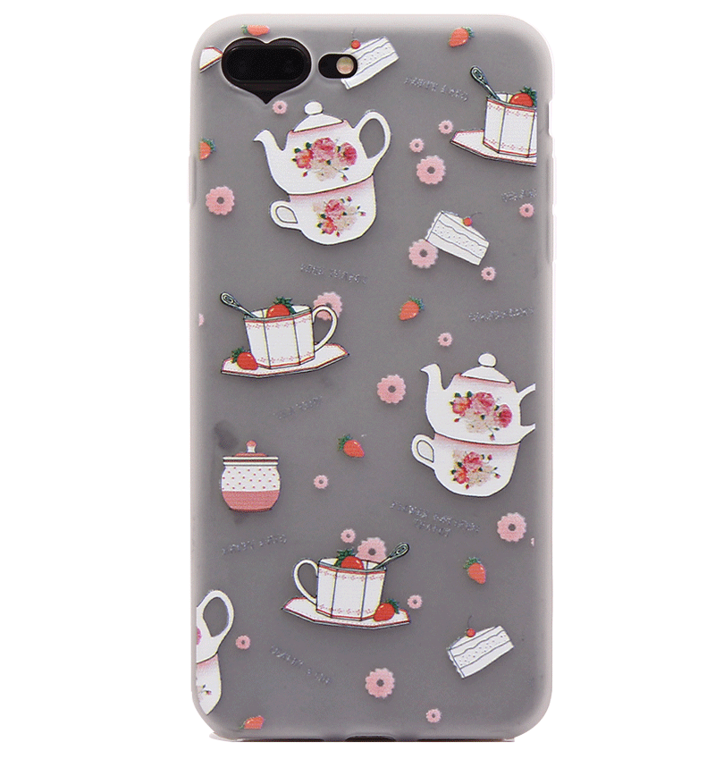 Ốp lưng iPhone 7 Plus Silicon teacup