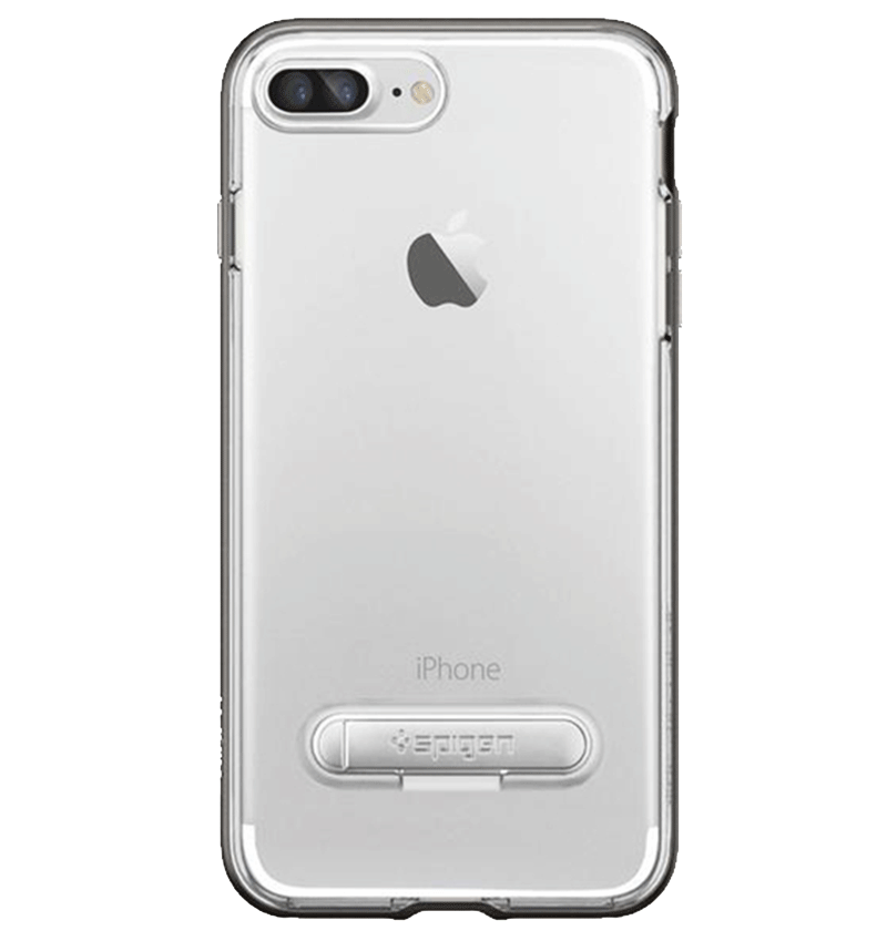Ốp lưng iPhone 7 Plus Spigen Crystal Hybrid Gun Metal(No.00267190)
