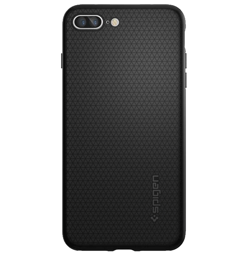 Ốp lưng iPhone 7 Plus Spigen Liquid Armor Black