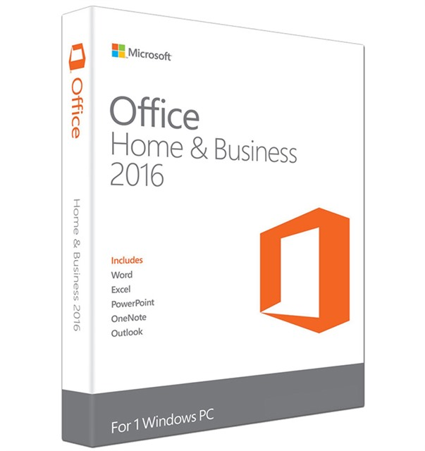 Phần mềm Microsoft Office Home Business 2016 32bit/64bit_T5D-02274 (FPP)