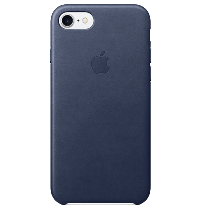 Apple Ốp lưng iPhone 7/8 Leather Midnight Blue