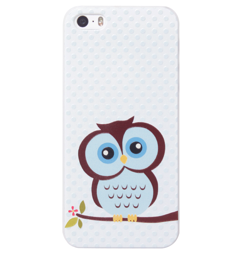 Ốp lưng iPhone 5S/SE Blue Owl