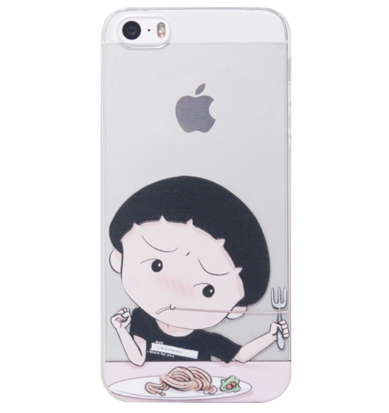 Ốp lưng iPhone 5S/SE Cute Girl