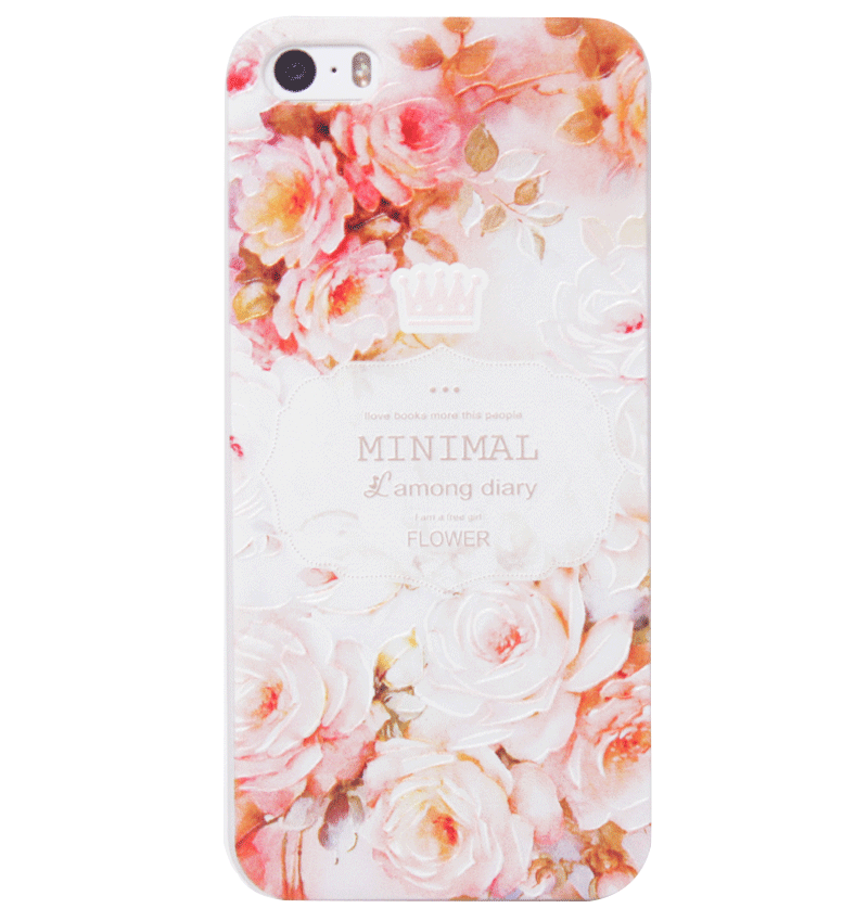 Ốp lưng iPhone 5S/SE Pink Roses