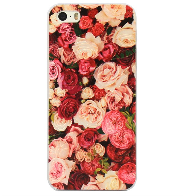 Ốp lưng iPhone 5S/SE Color Roses