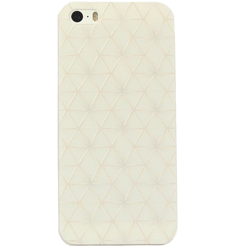 Ốp lưng iPhone 5S/SE White Pattern