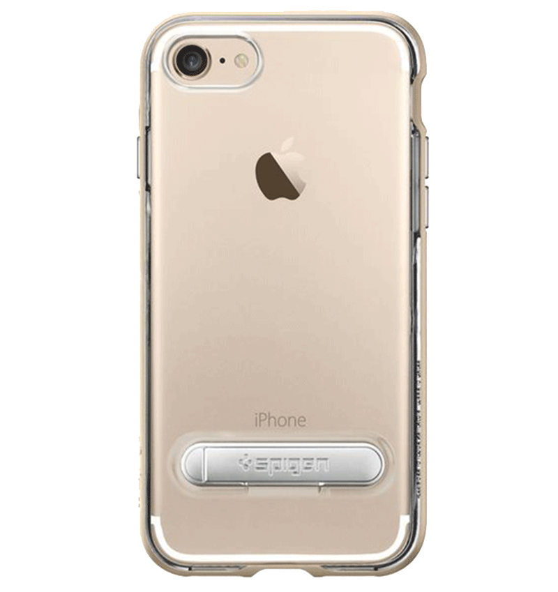 Ốp lưng iPhone 7 Spigen Crystal Hybrid Gold