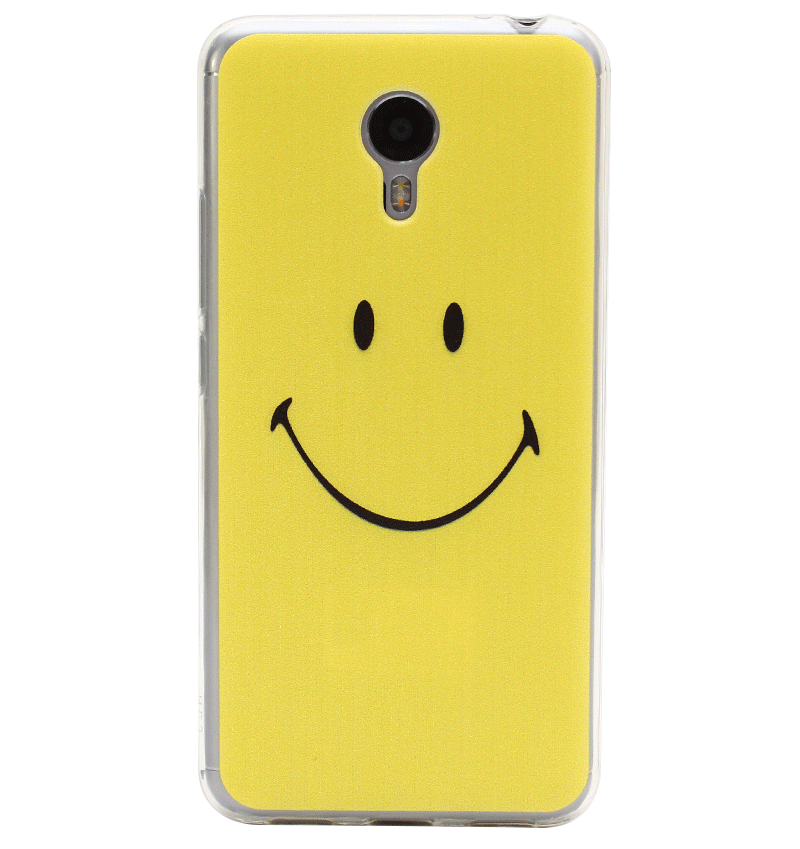 Ốp lưng Meizu M3 Note Yellow Smile