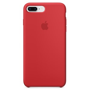 Apple Ốp lưng iPhone 8 Plus/7 Plus Silicon Red
