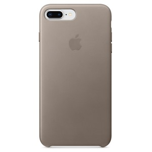 Apple Ốp lưng iPhone 8 Plus/7 Plus Leather Taupe
