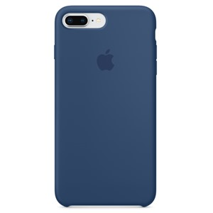 PKNK Ốp lưng iPhone 8 Plus/7 Plus Silicon Blue Cobalt MQH02FE/A