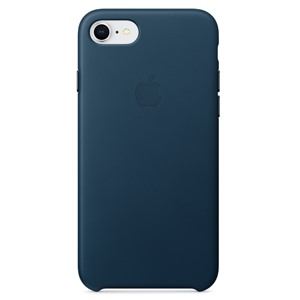 Apple Ốp lưng iPhone 8/7  Leather Cosmos Blue