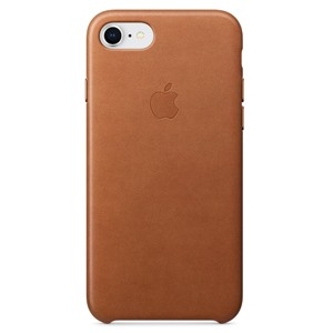Apple Ốp lưng iPhone 8/7  Leather Saddle Brown