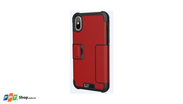 Ốp lưng iPhone X UAG Metropolis Red