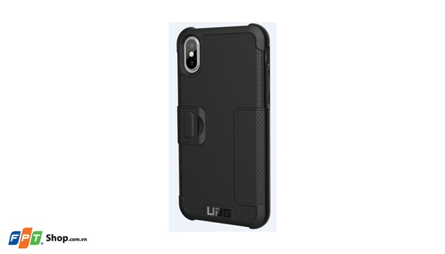 Ốp lưng iPhone X UAG Metropolis Black