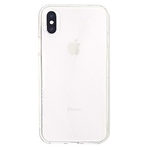Ốp lưng iPhone X Silicon Rock Trong