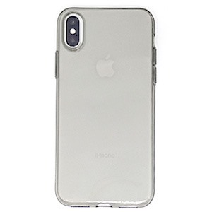 Ốp lưng iPhone X Silicon Rock Ghi