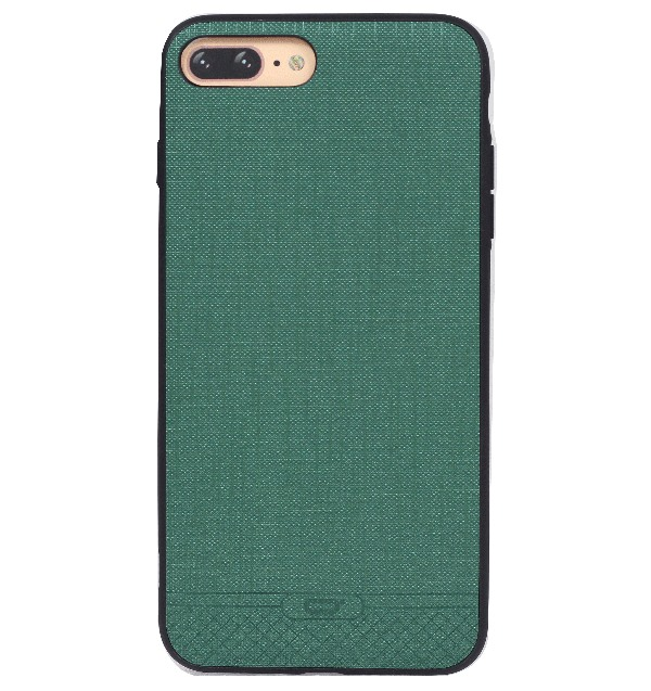 Ốp lưng iPhone 7 Plus Vải xước iCon Dark Green