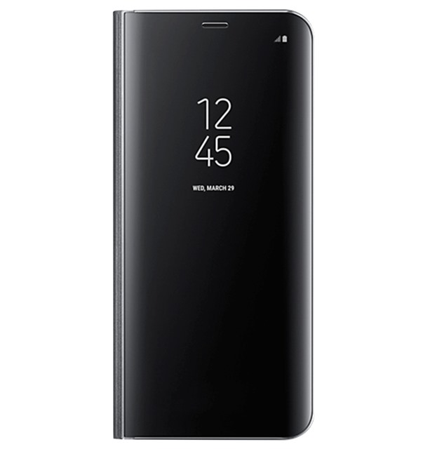Bao da Samsung S8 Plus Clear View Standing Black