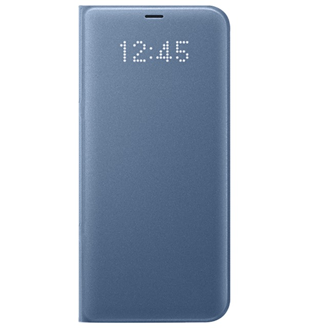 Bao da Samsung S8 Plus Led View Blue