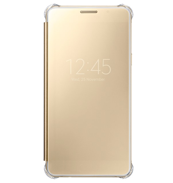 Bao da Samsung A5 (2016) Clear View Gold