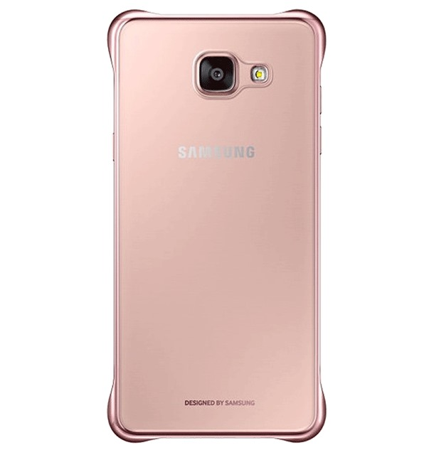 Ốp lưng Samsung A5 (2016) Clear Cover Rose Gold