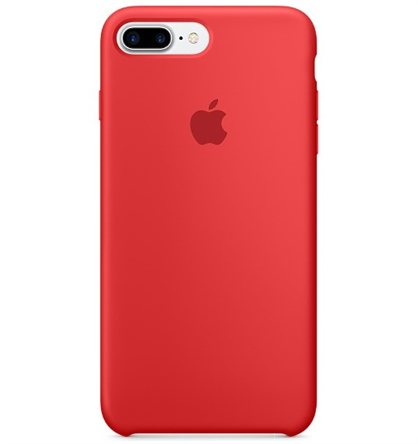 PKNK Ốp lưng iPhone 7 Plus Silicon Red MMQV2FE/A
