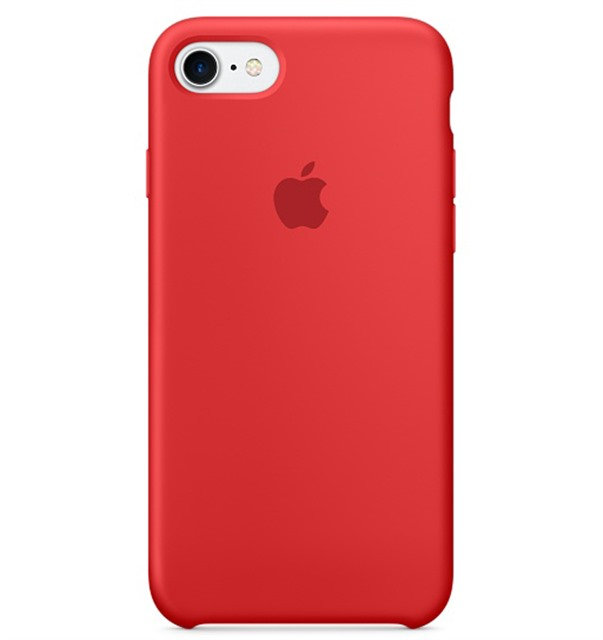 PKNK Ốp lưng iPhone 7 Silicon Red MMWN2FE/A