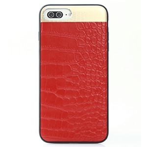 Ốp lưng iPhone 7 Plus Croco Leather Red