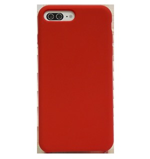 ỐP LƯNG IPHONE 7 PLUS SILICON RED