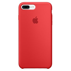 Apple Ốp lưng iPhone 7 Plus/8 Plus Silicon Red