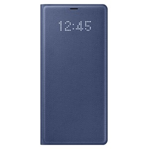 Bao da Samsung Note 8 Led View Deep Blue