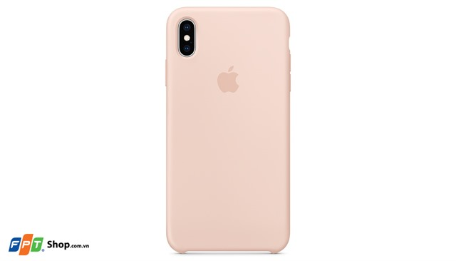 Apple Ốp lưng iPhone XS Max Silicon Hồng
