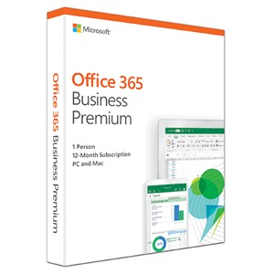 Office 365 Busines Premium (1 năm; 5 PC/Mac + 5 tablets + 5 phones)
