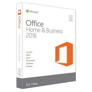 Key-online Microsoft Office for MAC Home Business 2016_W6F-00476