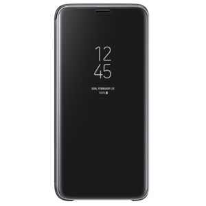 Bao da Samsung S9 Clear View Black