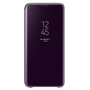 Bao da Samsung S9 Plus Clear View Violet