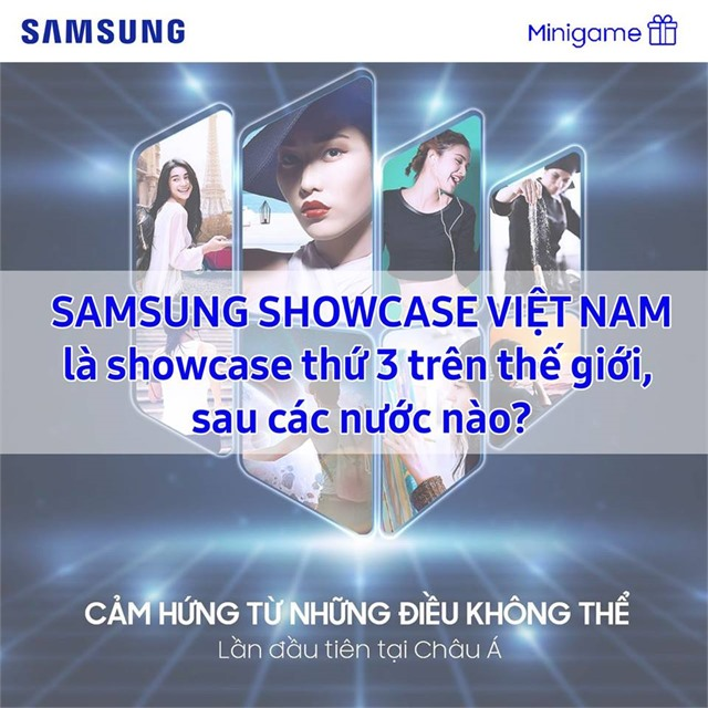 CÙNG SAMSUNG SHOWCASE NHẬN GALAXY WATCH
