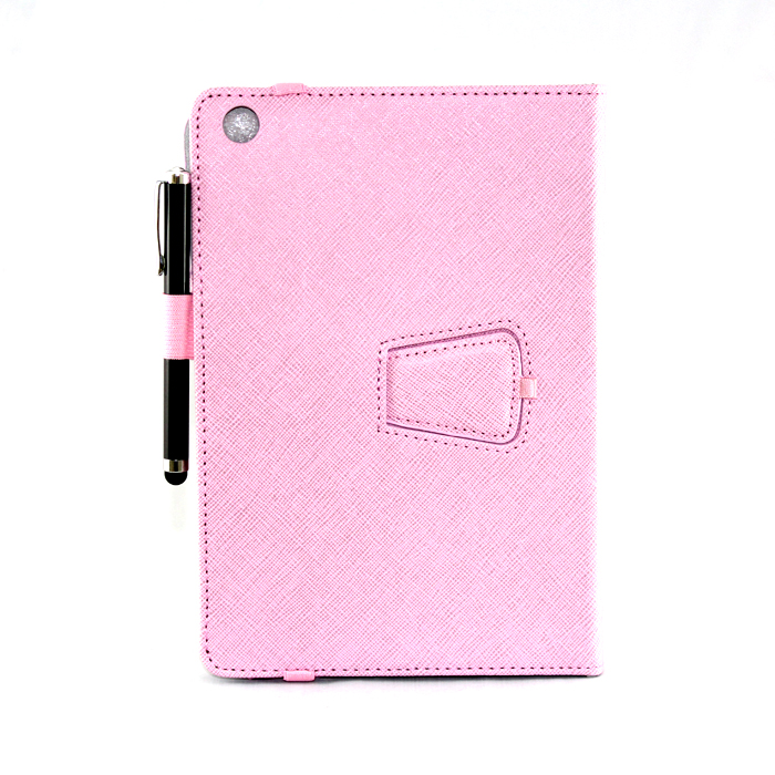 Bao da iPearl Leather Case with Stand (Pink) cho Ipad Mini