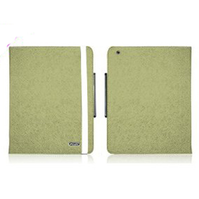 Bao da iPearl New Ipad Leather Case with Stand- Green
