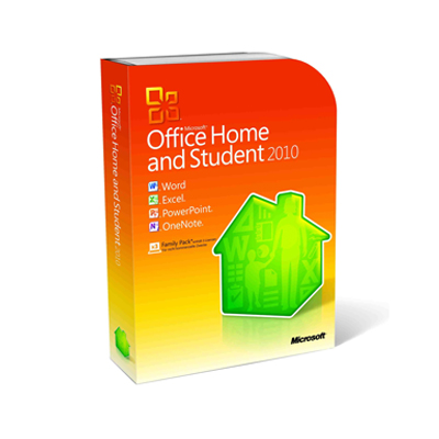 Office Home and Student 2010 ENG Asia Other PC Attach Key PKC Micro_79G-02543
