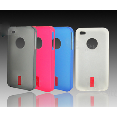 Ốp lưng iPhone4 TPU Case (Blue) 350