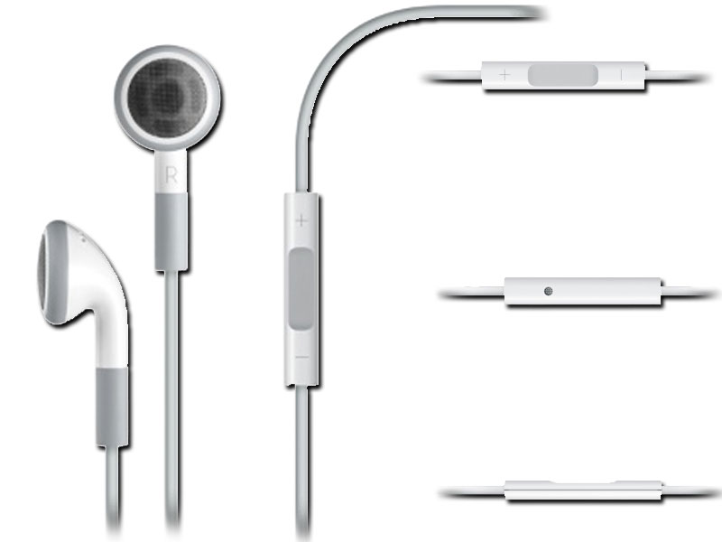 Tai nghe  Earphones with Remote and Mic None MB770G/A