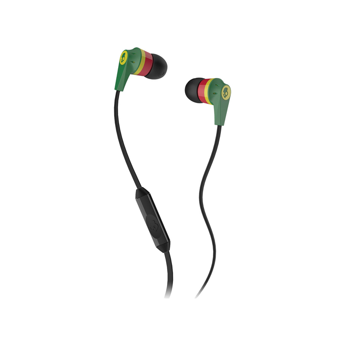 Tai nghe in-ear SkullCandy Supreme Sound Ink'd S2IKDY-102 Rasta
